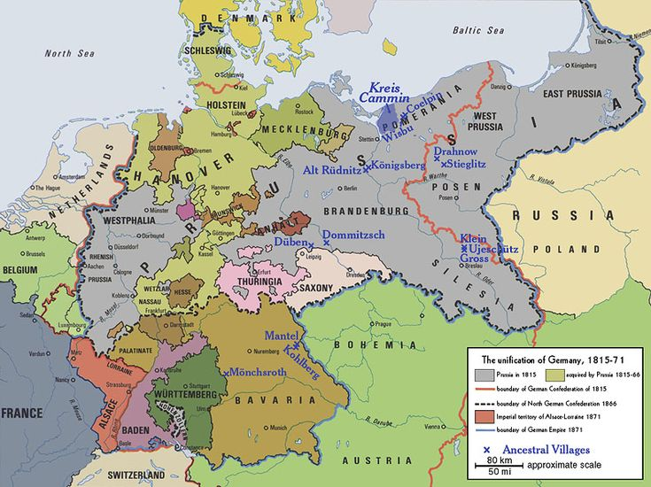 Best Map Images On Pinterest Cartography European History - Germany unification map