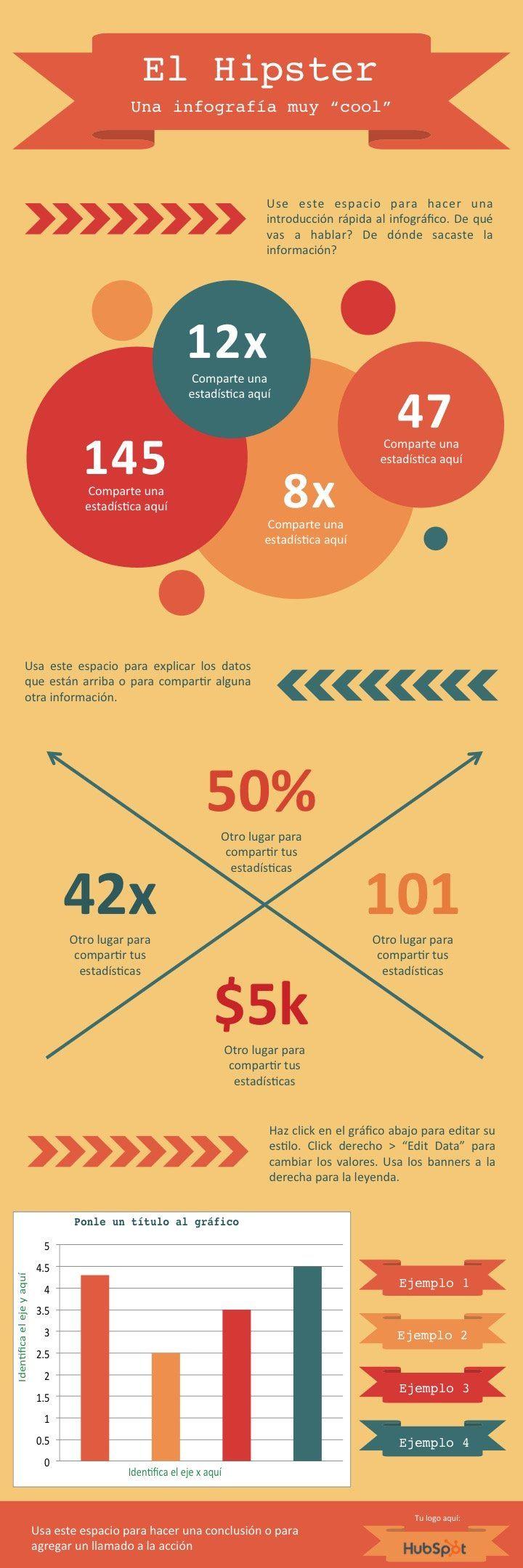 como crear infografias Plantillas de infografías gratis