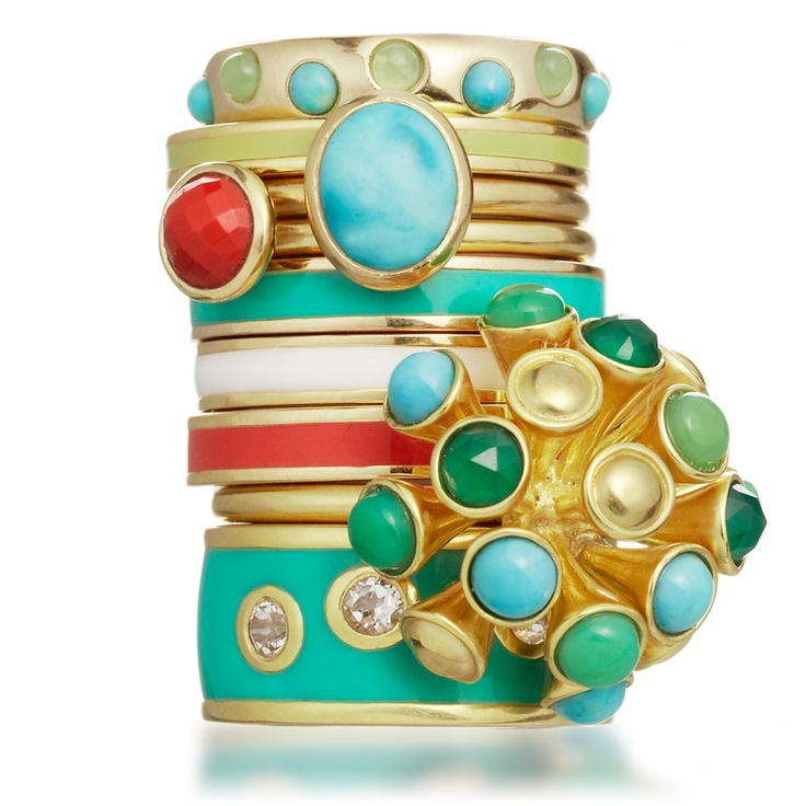 Astley Clarke stacking rings.