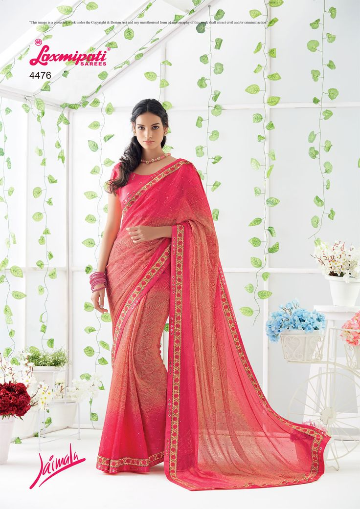 Glam up your wardrobe with this lively Chiffon Stone Work Pink Saree that will make you look like a gorgeous diva.  #Catalogue #JAIMALA #DesignNumber: 4476 #Price - ₹ 2042.00   #Bridal #ReadyToWear #Wedding #Apparel #Art #Autumn #Black #Border #MakeInIndia #CasualSarees #Clothing #ColoursOfIndia #Couture #Designer #Designersarees #Dress #Dubaifashion #Ecommerce #EpicLove #Ethnic #Ethnicwear #Exclusivedesign #Fashion #Fashionblogger