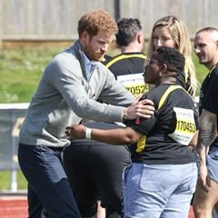 Prince Harry attends the University of Bath Invictus trials