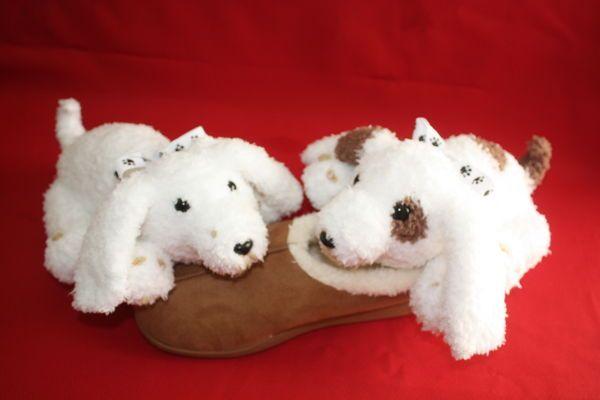 Sleepy Puppies- Neddy and Noddy-KNIT