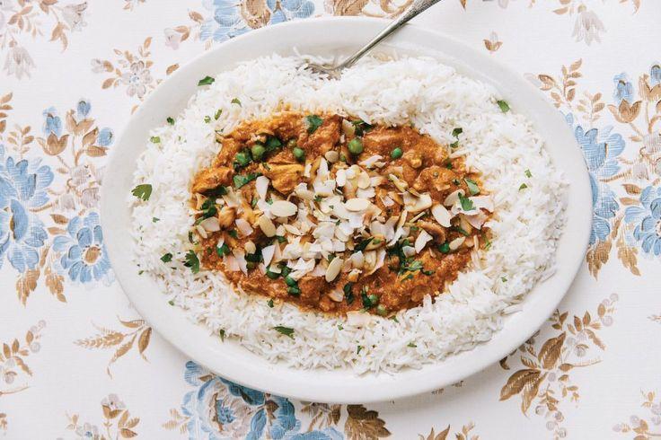 sarah waldman indian curry butter chicken