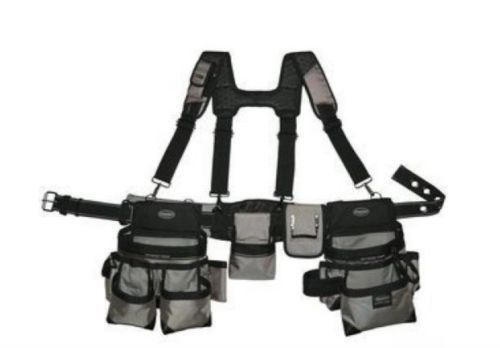 Tool Belt Suspension Rig Bucket Boss Carpenter Electrician Contractor Pouch Dril