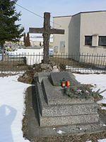 Szinyei Merse Pál sírja Jernye község temetőjében