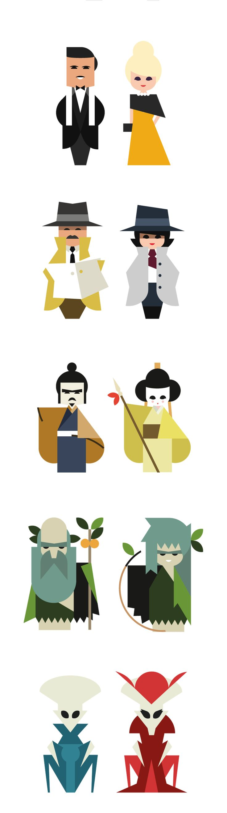 Booquo Character Icons by Hey (Barcelona)