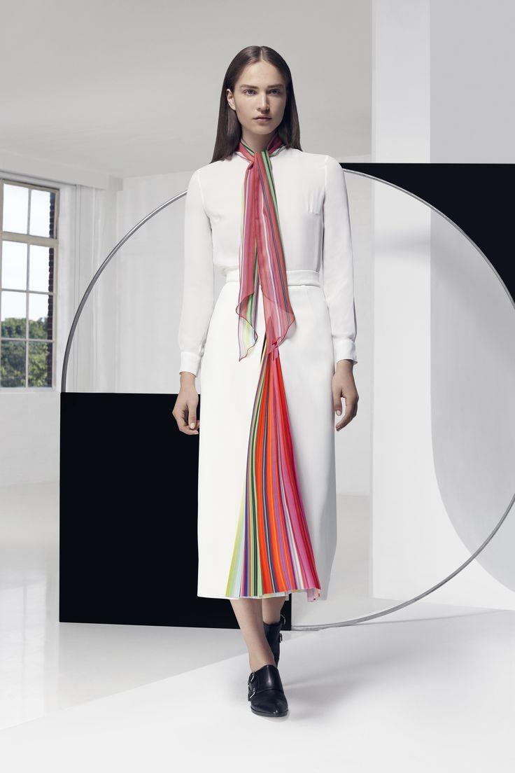 Look 4. Rugo Skirt & Folia Blouse