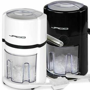 Mortier - Pilon  Broyeur à glace avec collecteur et pelle blanc