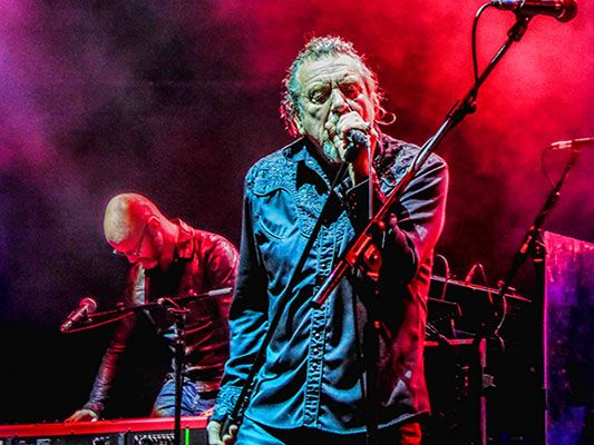 Robert Plant and the Sensational Space Shifters live at Ulster Hall, Belfast on November 23rd, 2014.  Photo © Jimmy Little Junior.