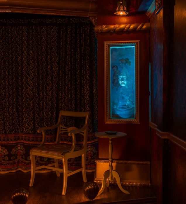 A Haunted House Filled With DIY Tricks From Disney's Haunted Mansion