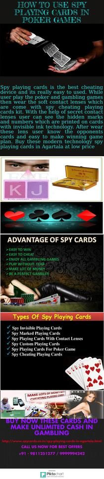 How To Use Spy Playing Cards in Poker Games - 9999994242 | Piktochart Infographic Editor