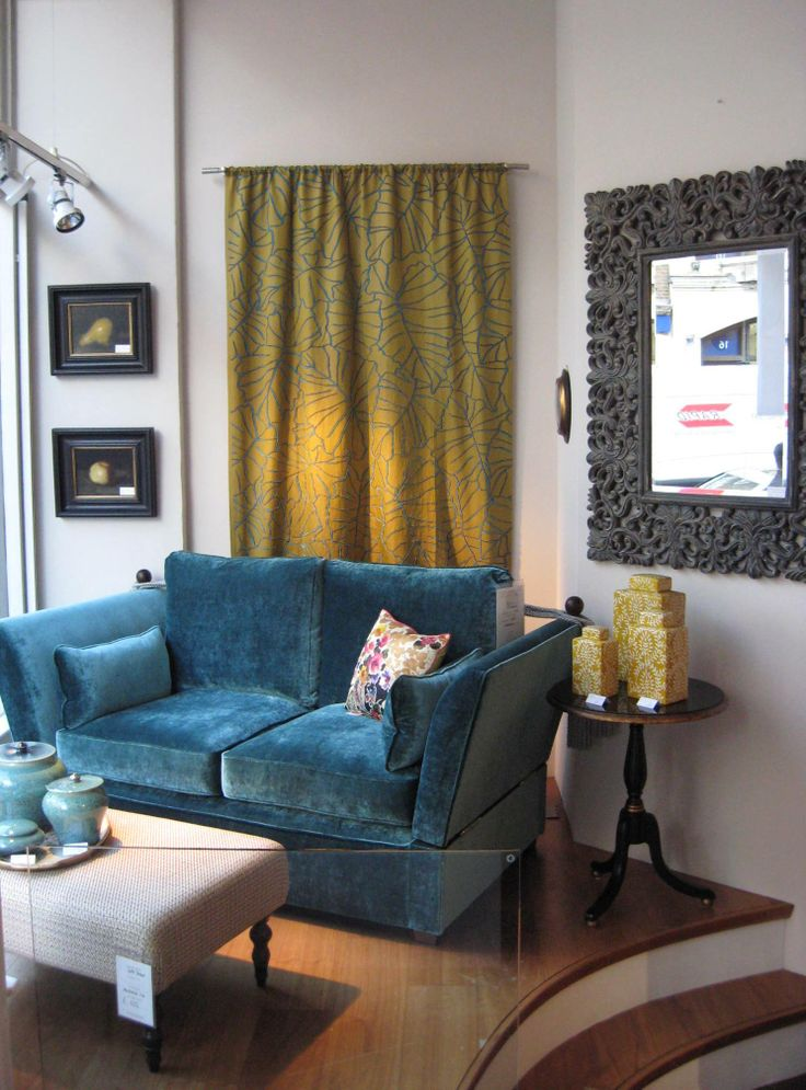 We love Wigmore Streets latest window featuring the Knole sofa ...