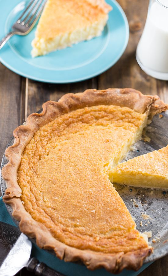 Old-Fashioned Egg Custard Pie --This is one of those forgotten recipes, which is a shame. Thank you for the awesome reminder!