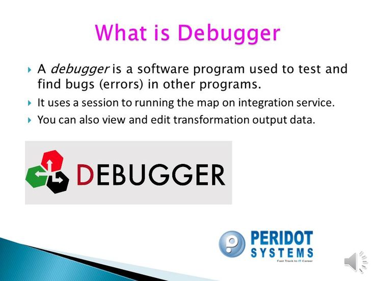 what is Debugger