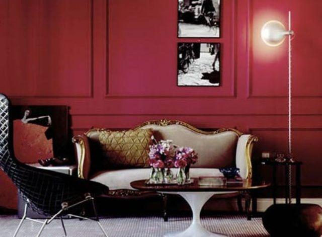 Sala Vermelha: Interiors Decor Decoración, Arquitetura De Interiors, Decor Salteado, To Appear, Decorating, Blog De, Decor Boiserie, Decor Decoración De, Be