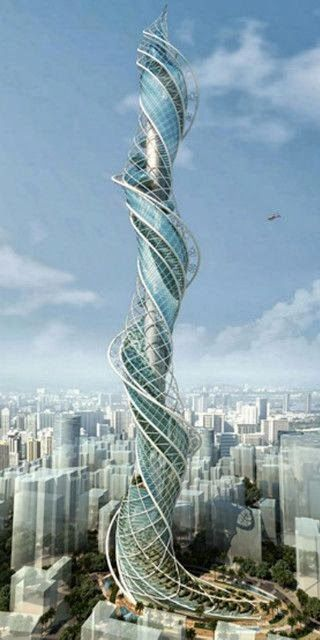 Mumbai towers and india on pinterest Concept buildings