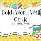 These owl word wall cards include all 220 dolch words plus the 95 dolch nouns.  These coordinate perfectly with my chevron owl word wall headers.  ...