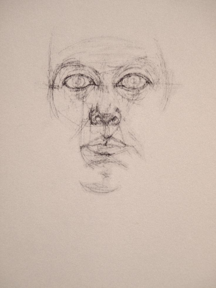 Alberto Giacometti drawing