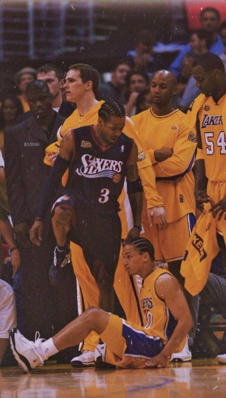 Allen Iverson Nba Fashion Allen Iverson Basketball Players Nba