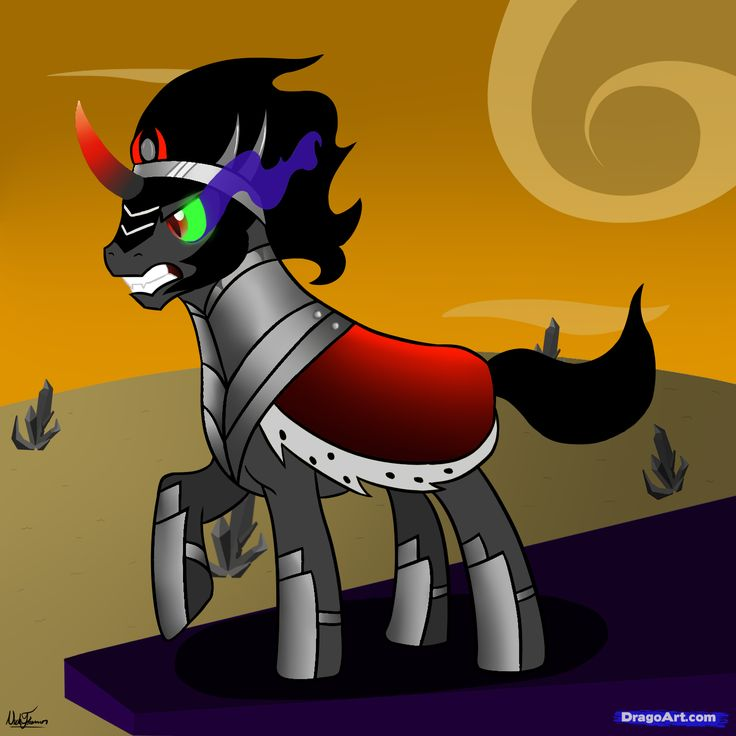 102 Best Images About King Sombra On Pinterest