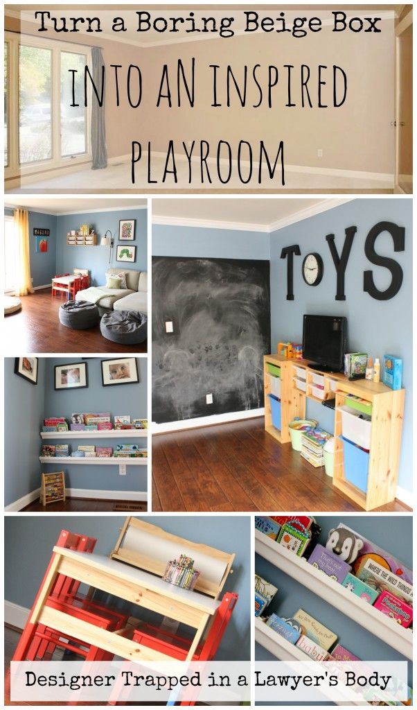 Fantastic Playroom Ideas By