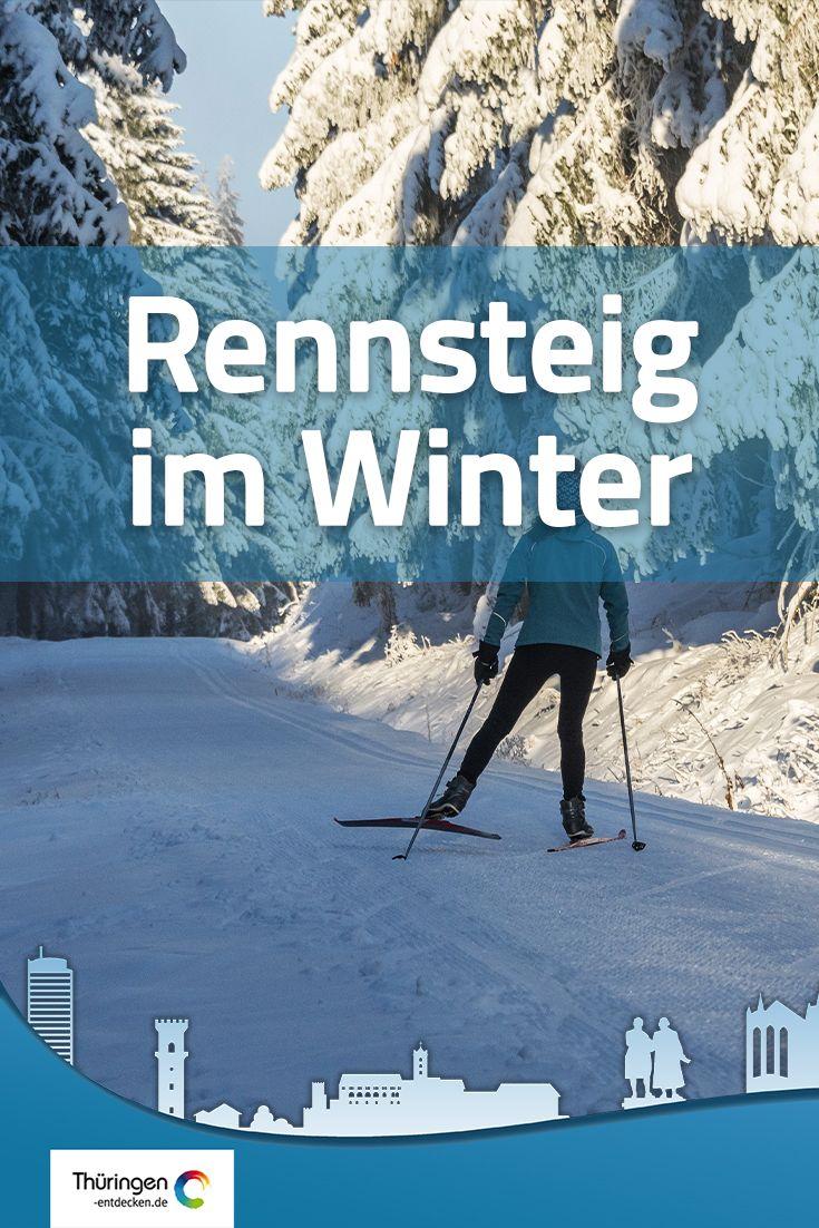 Der Rennsteig Im Winter Rennsteig Winterwandern Allgau Rennen