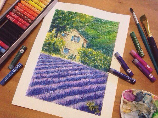 Творческий курс Масляная пастель | ПУНКТУМ