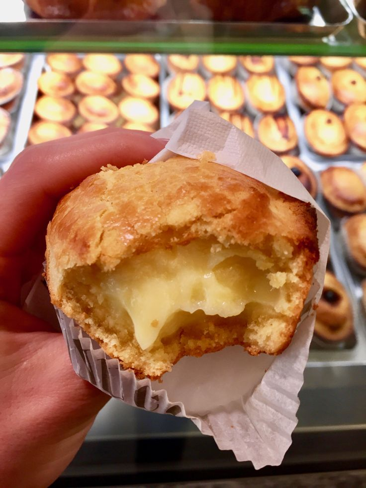 Pasticciotto - a typical cream filled sweet from Salento, Puglia