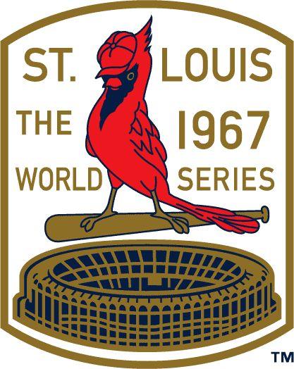 1967 World Series Championship Logo