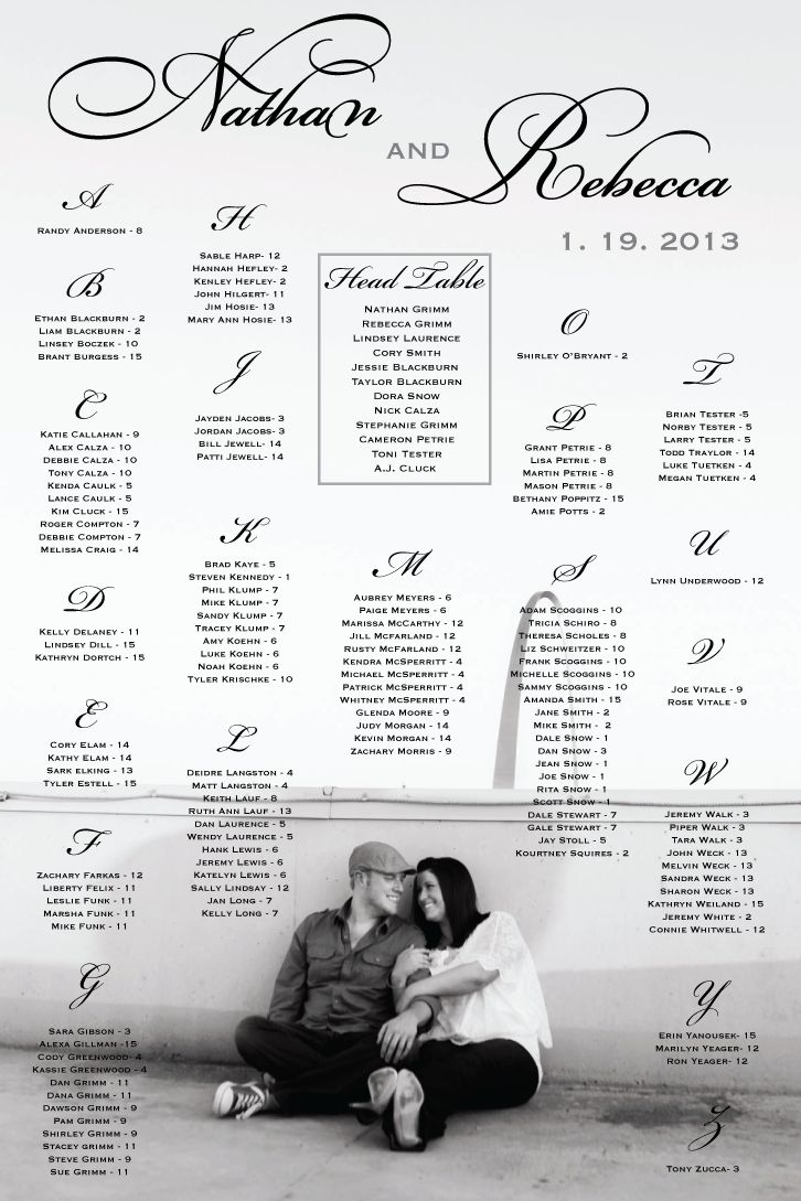 45 best images about wedding table seating charts on pinterest