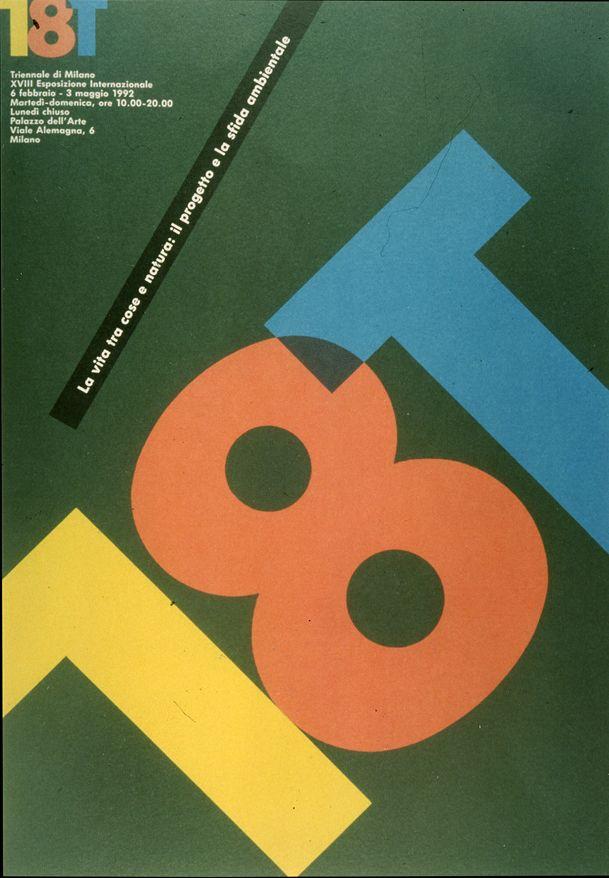 XVIII Triennale di Milano, 1992
