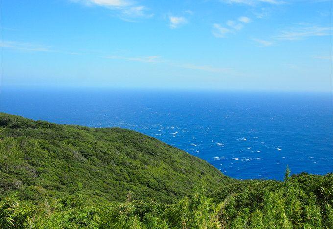 青ヶ島  写真:美しい海
