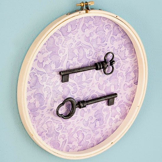 Displayed In This Embroidery Hoop Is A Fantastic: 17 Best Images About Crafts-EMBROIDERY HOOPS On Pinterest