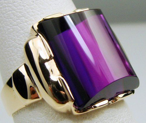 Estate Antique Rings for Sale | Used MENS ANTIQUE RING VINTAGE COLLECTIBLE ESTATE DECO AMETHYST 10K ...