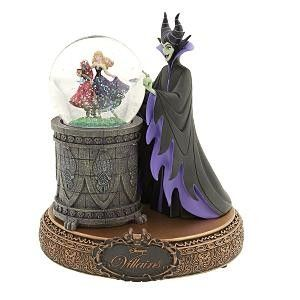 Maleficent Disney Villains Snowglobe