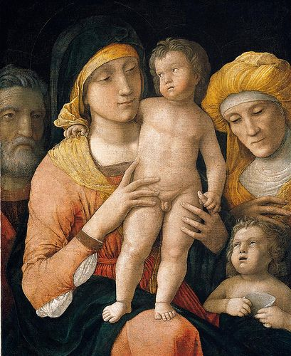 Andrea Mantegna: The Madonna And Child With Saints Joseph, Elizabeth, And John The Baptist