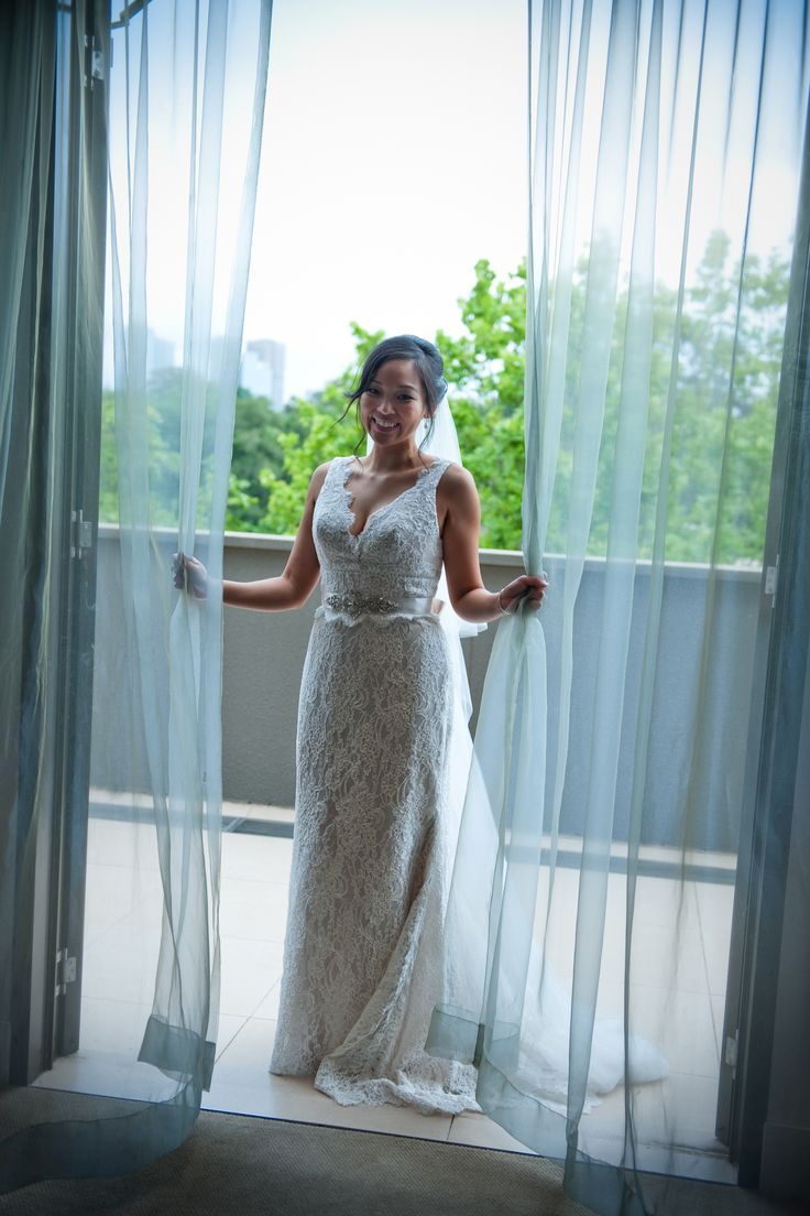 Stunning Bride - Beautiful Dress - Royal Suite Accommodation - Royce Hotel Melbourne Wedding Venue - Royce Hotel Melbourne Accommodation