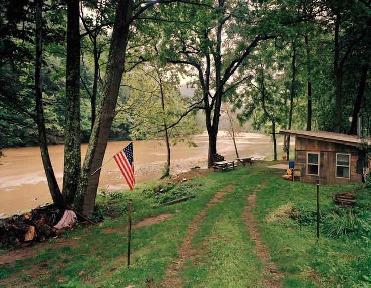 Jeff Rich - Riverside Cabin, Toe River, Relief, North Carolina - 2007