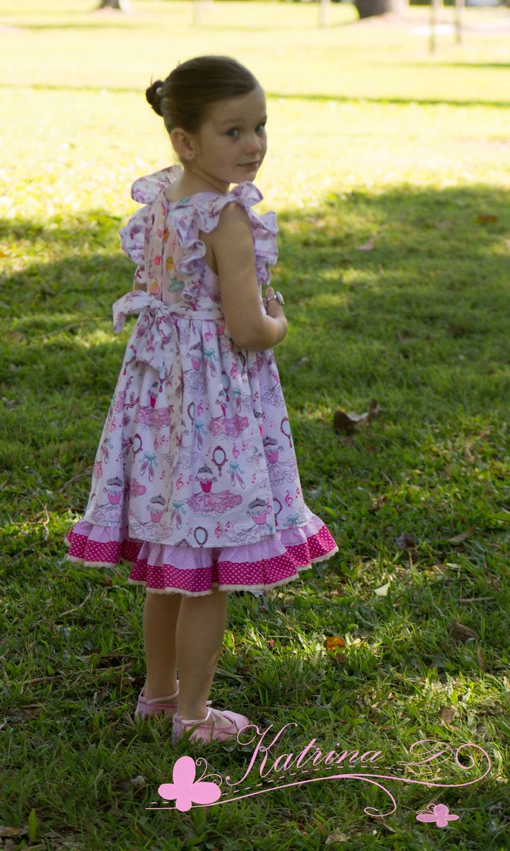 The updated Ruthie's Picnic Dress from Foofoo Threads.