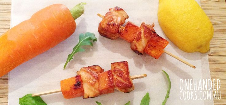 If you have any trouble at all at dinner time, you need to try the food-on-sticks thing. Kids, love it. Harry devoured these like a true pro, he barely paused to take a breath. Harry's food is usually adapted from whatever Henry and I are having for dinner. This was no different. We were having …