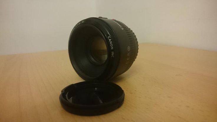 Obiektyw  Canon EF 50 mm f/1.8 II BCM