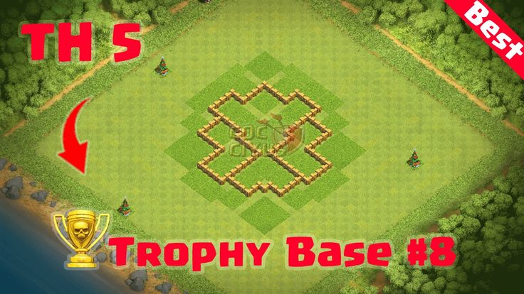 Clash of Clans - Town Hall 5 Best Defense (CoC TH 5 Trophy