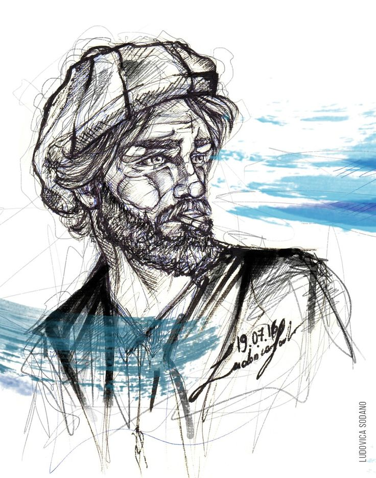 """S(e)ailor"" #illustration #art #sailor #sea"