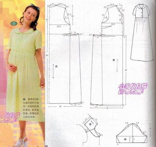 Chart may váy bầu cho chị em với các mẫu cực đẹp và chi tiết1