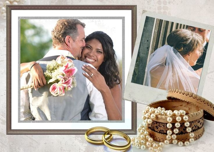 29 best # Wedding Collages Set - Just Married Photoshop Templates ...