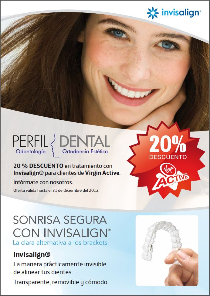 Diseño para la clinica Perfil Dental