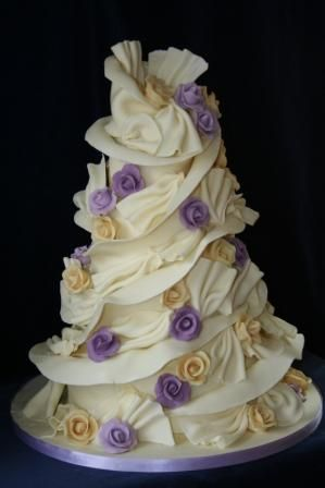 1000+ images about Cake Art - Purple/Lavender Wedding Cakes auf ...