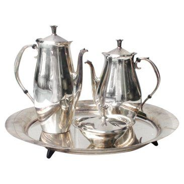 Check out this item at One Kings Lane! E.B. Rogers Midcentury Tea Set, 4 Pcs