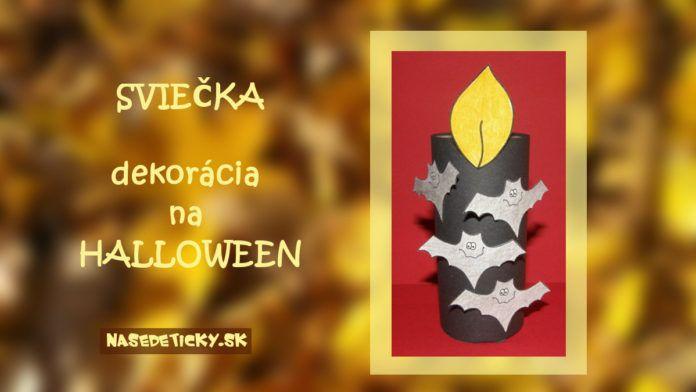 Sviečka - Halloween