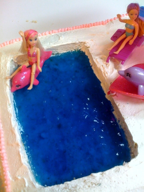 24 Best Birthday Pool Party Cake Images On Pinterest Pool Party Cakes Pool Parties And